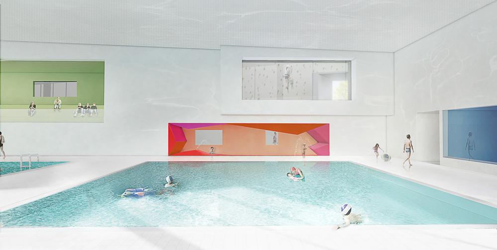 Piscine couverte for Construction piscine neuchatel